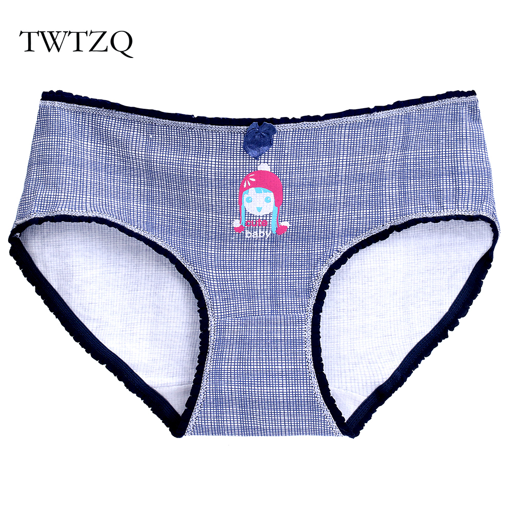 TWTZQ Women   Panties   Cotton Sexy Rabbit Cartoon Briefs Cozy Underwear Seamless Briefs Lingerie Intimates For Girls A2NK069