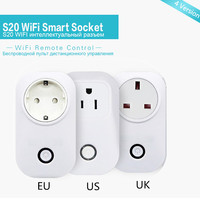 Sonoff WIFI Wireless Remote Control Socket Smart Timer Plug Smart Home Power Yi Weilian S20 Mobile
