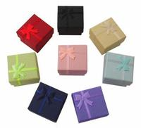 Big Discount Multi Color 1000pcs/lot Paper Ring Box,Jewelry Storage Ring Boxes Gift Box Party Gift Packaging