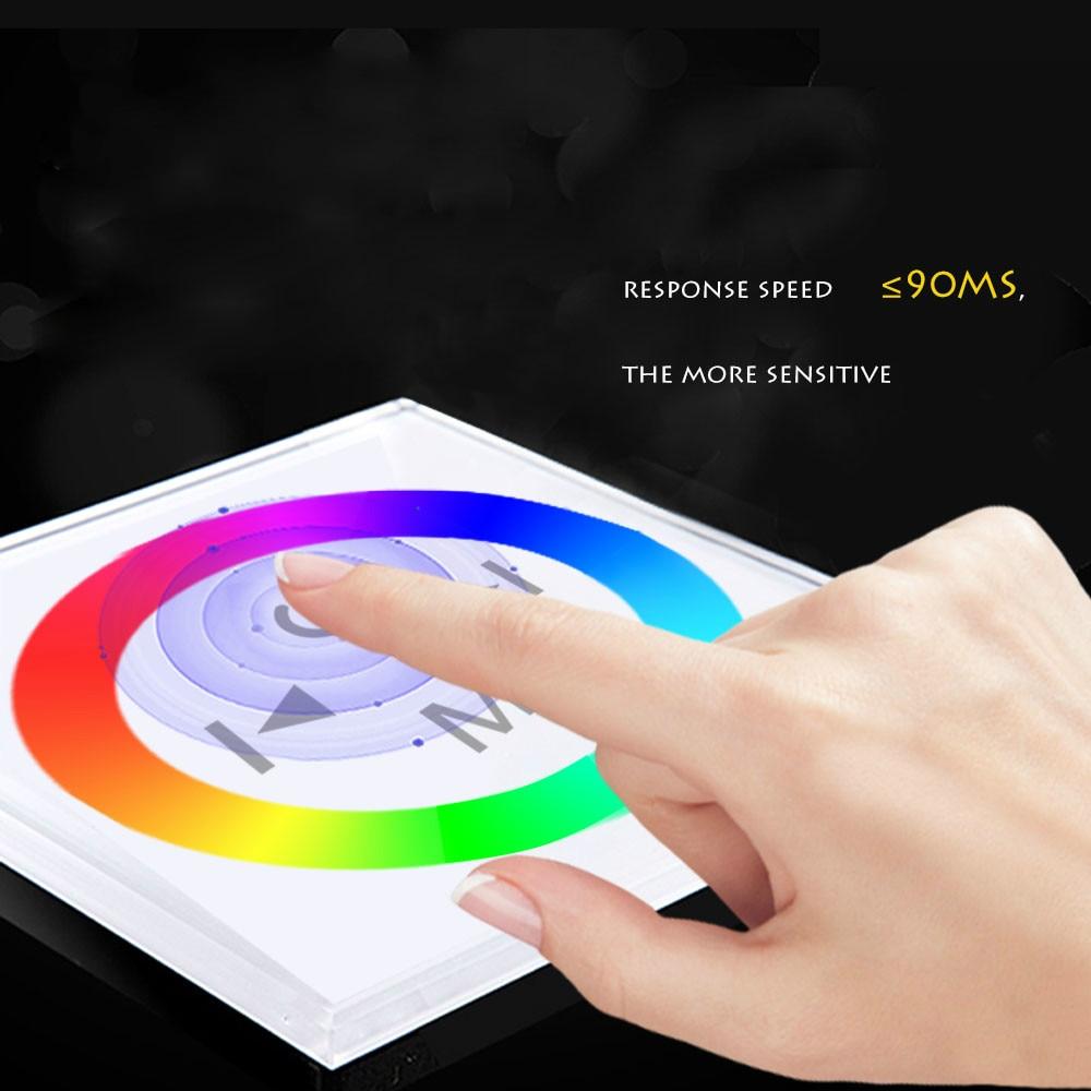 4A DC12V-24V / RGB Krmilnik na dotik z LED-ploščo na dotik na - Pribor za razsvetljavo - Fotografija 5