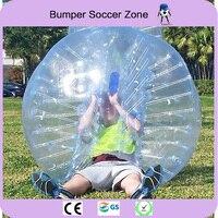 Бесплатная доставка 0.8 мм 100% ТПУ 1.5 м надувной пузырь Футбол мяч бампер пузырь мяч надувной мяч Зорб воздушный шар пузырь Футбол