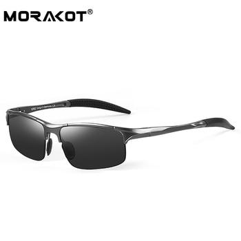 MORAKOT Fashion Sunglasses Men Polarized Driving Sunglasses Male Custom Myopia Optics Eyewear Sun Glasses JSCP2817