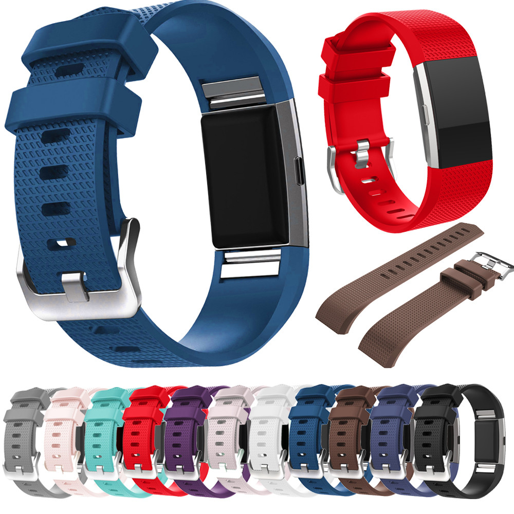 Susenstone 8 Color Silicone Watchband Bracelet For Watch Band Wristwatches Correa Reloj Silicone Straps For Fitbit Charge 2 20mm sports silicone gel bracelet watch strap band for fitbit charge 2 watchbands sporting accessories correa reloj 13 colors