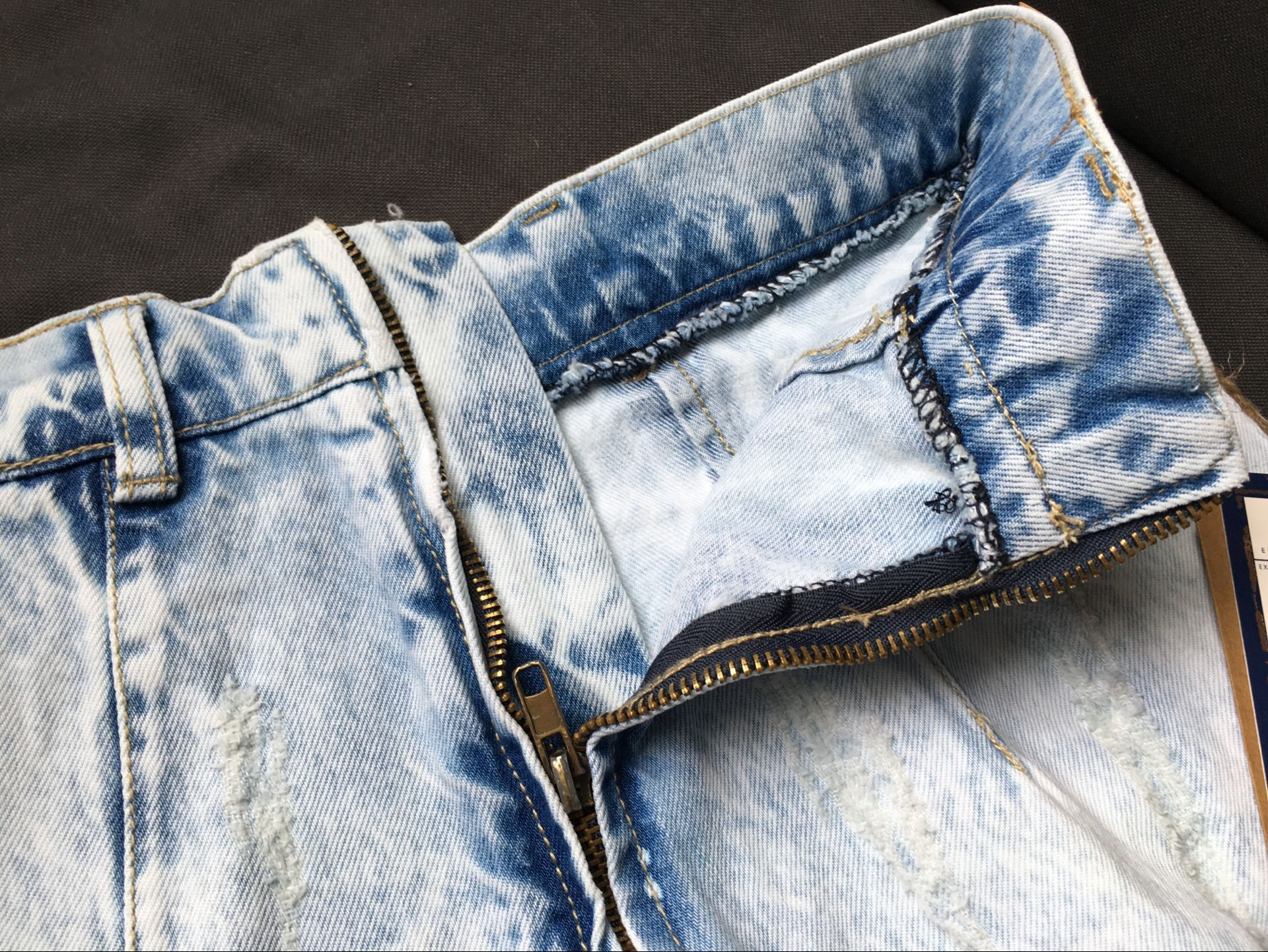 Niñas Jean Mujer Vaquera Ripped Vintage Sexy Azul Verano Mujeres Casual Falda Damas Para 2018 Moda aqwxv1x
