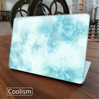 Green Marble Laptop Full Cover Skin For Macbook Air Pro Retina 11 12 13 15 Inch