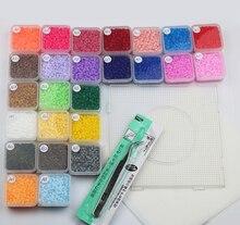 Perler Beads 2 6mm Fuse DIY Educational Craft 12500Pcs box 25 Colors