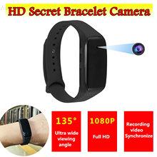 HD1080P Video Bracelet Camera Mini Secrect Invisible Camcorder 135 Degree Wide Angle Sport Wristband Recorder with Mic Micro Cam cheap CMOS 1080P (Full-HD) YYS SPY MicroSD TF Wearable Bracelet Camera Sport DV DVR Mini Camcorders Fitness Tracker 2560*1440