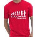 Evolución De Un Bombero Bombero camiseta Más Tamaño y Colores divertidos Regalo interesante