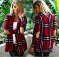 Г-жа свитер пальто новый список 2016 новая зимняя куртка теплая полосатый свитер мода sexy Г-Жа Свободно 169261AA