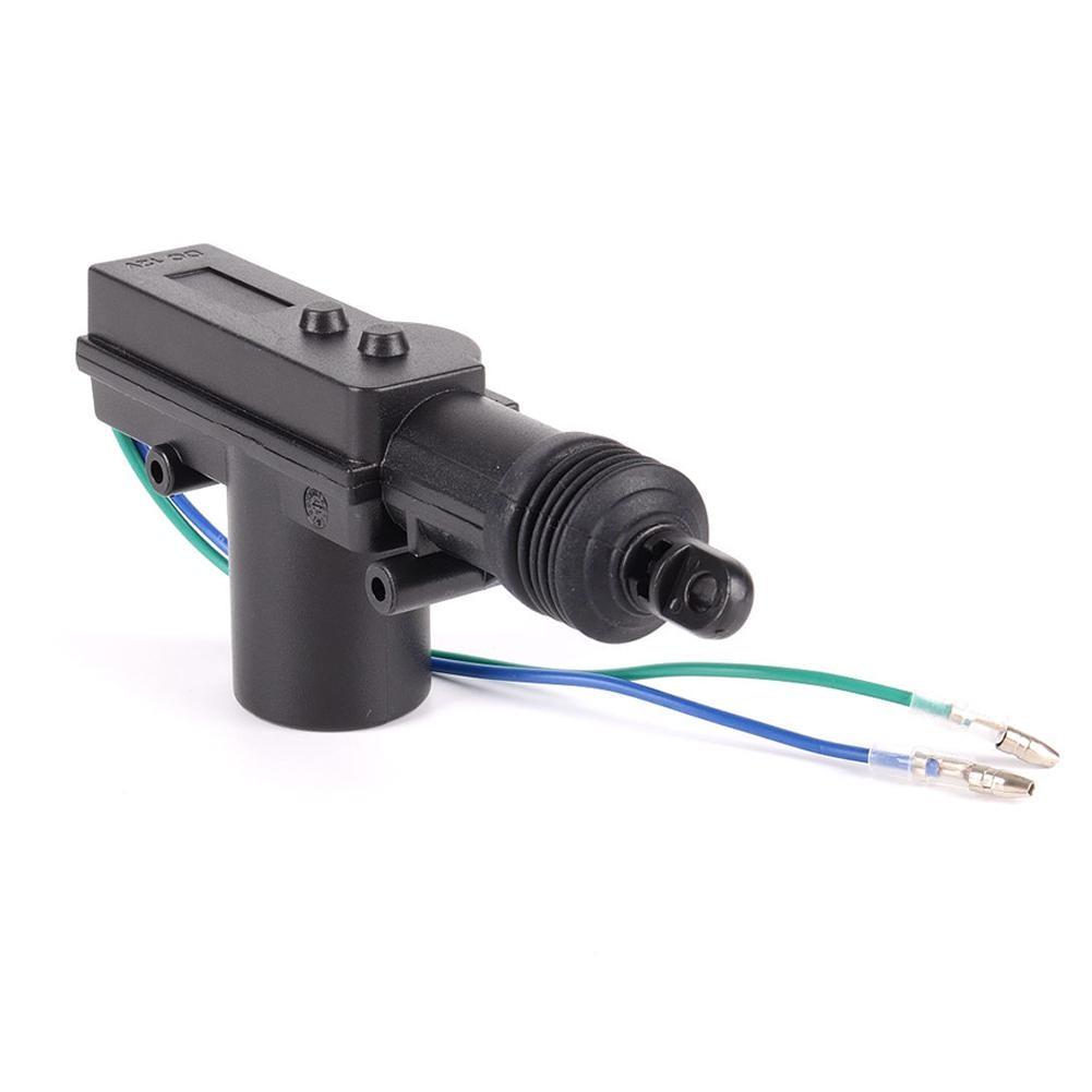 LumiParty Car Auto Power Door Lock Actuator Motor Professional 2 Wires 12V Auto Locking System Motor Anti-block design r30