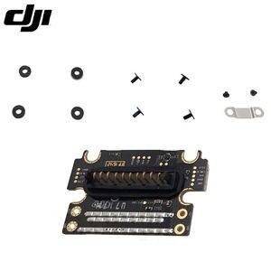 Image 5 - Echtes DJI Phantom 4 Pro Teil 2 Aircraft Power Interface Board Modul Port mit Schrauben Montage Stück für Ersatz