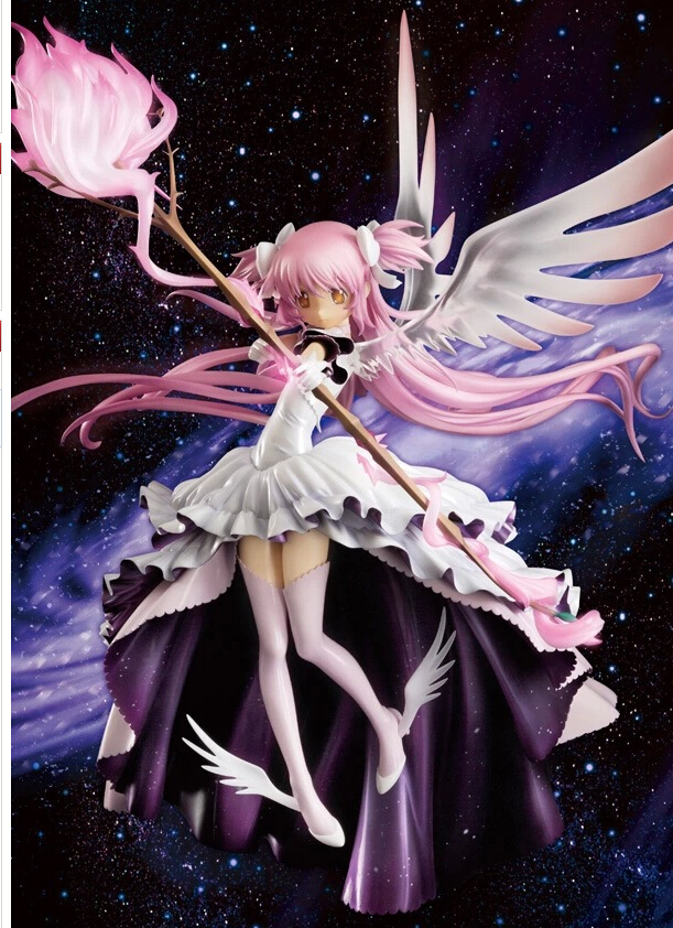 30cm Puella Magi Madoka Magica Anime Action Figures PVC brinquedos Collection Figures toys for christmas gift free shipping 21cm puella magi madoka magica sexy anime action figure pvc collection model toys brinquedos for christmas gift free shipping