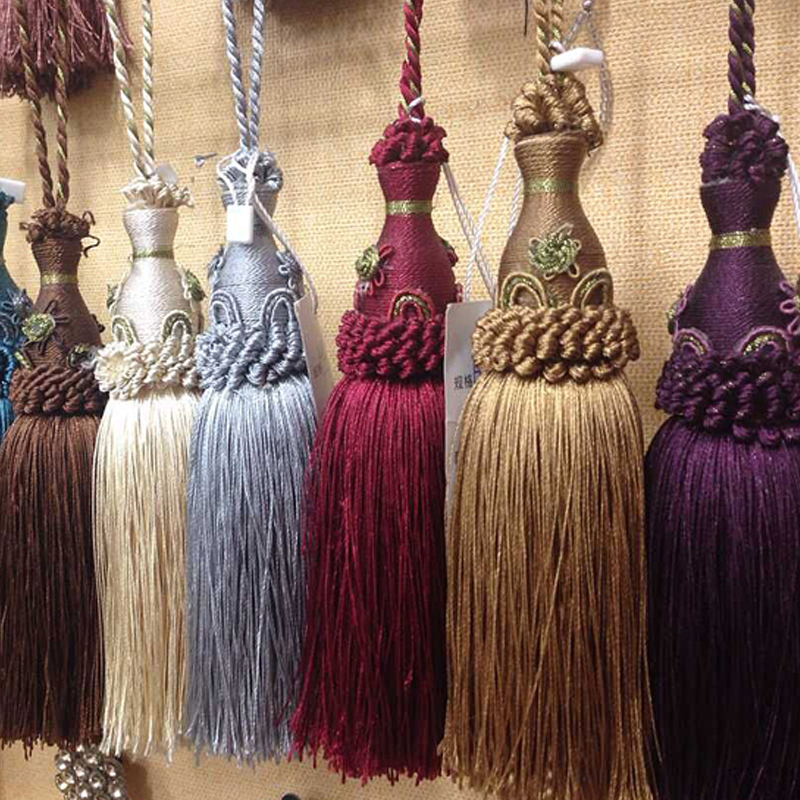2016 New Curtains Tiebacks Of Europe Type Small Parts Of The Modern Home  Decoration Tassel Pendant
