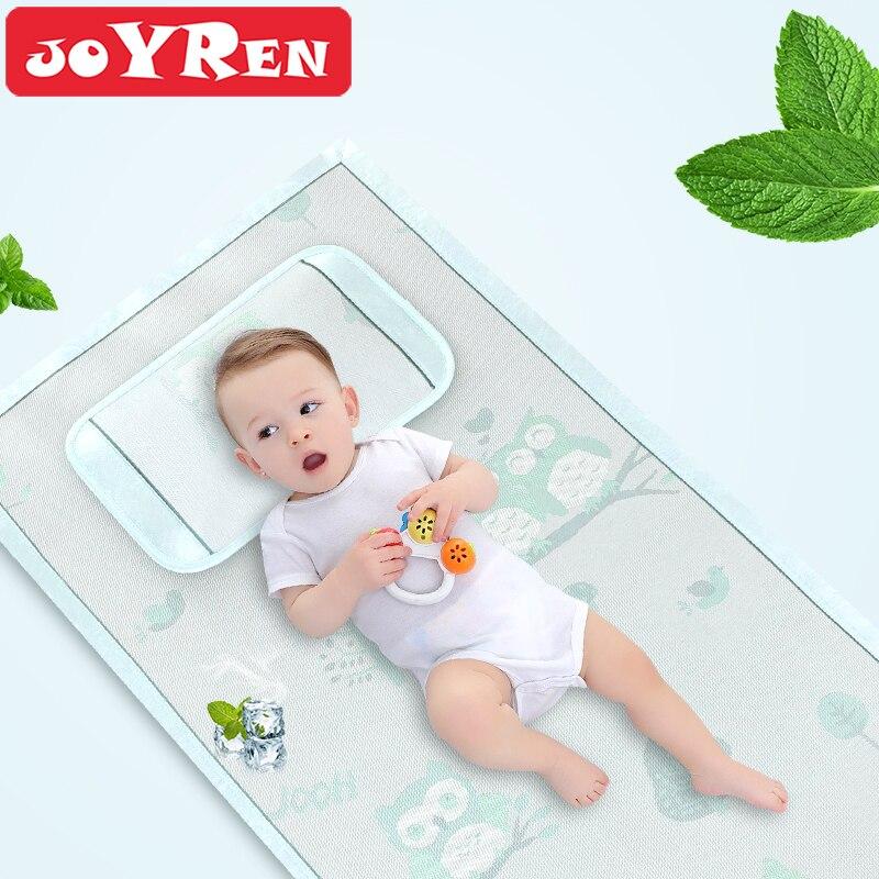 Малыш матрас колодки по JOYREN, детские летние кровать площадку, новорожденных дышащий коврик