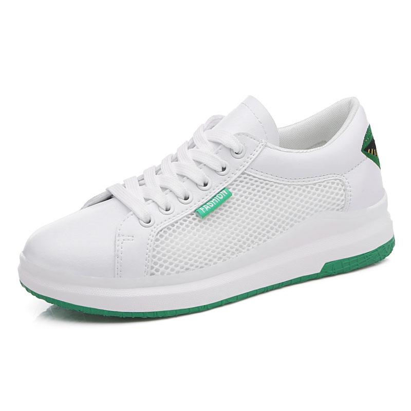 Спортивные кроссовки женщина открытый воздухопроницаемая комфортная обувь для него и для нее легкие спортивные кроссовки сетки Для женщин... - 2