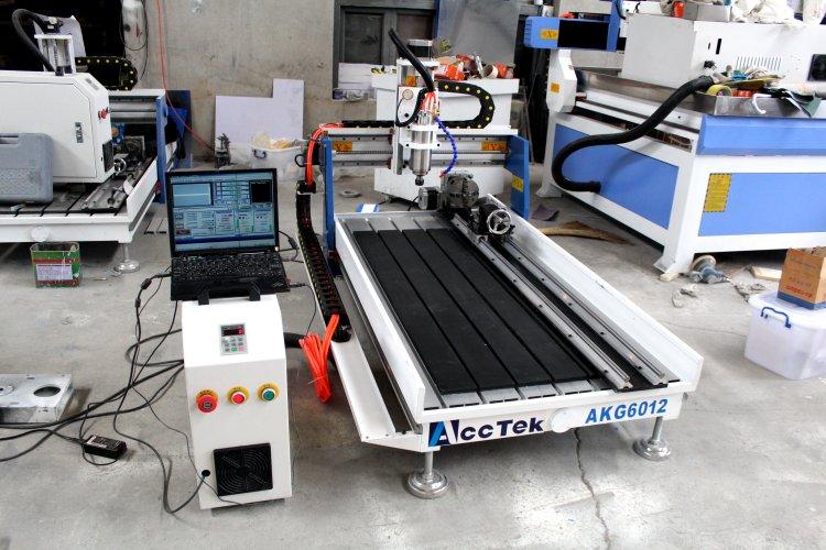 Cnc Router Parts 6012 Cnc Router/AKG6012wood Machine Sculpture Wood Carving Cnc Router Machine  T-slot Table Small Cnc Router