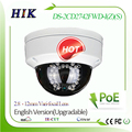 Hikvision upgradable english version DS-2CD2742FWD-I Z S Audio, POE 4MP WDR Vari-focal Motorized Lens Dome Network IP Camera