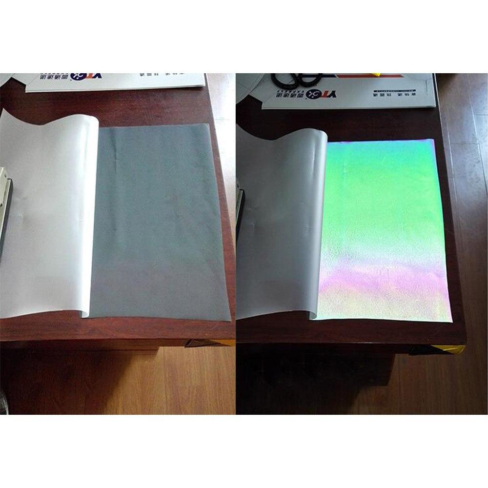 0,5x2 м Хамелеон теплообмена винил HTV PU Цвет Изменение плёнки Светоотражающие простыни DIY 20 ''x 78,74''