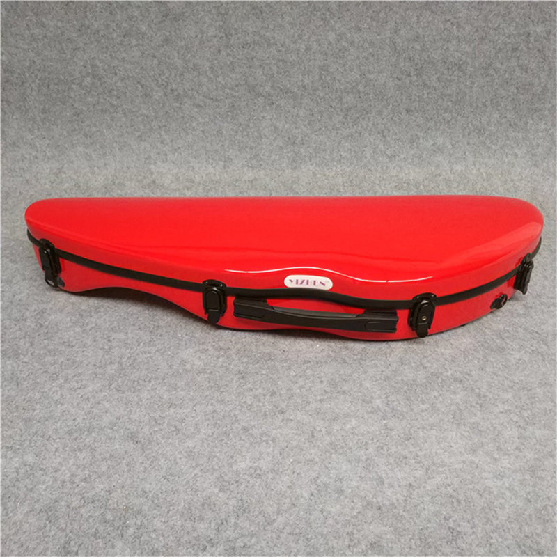 High Quality 4/4 Violin Case Full Size Violin Case Fiddle Violin Case Fiber Glass Case With Bow Holders high quality violin 4 4 full size composite carbon fiber case bow holders straps