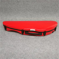 High Quality 4/4 Violin Case Full Size Violin Case Fiddle Violin Case Fiber Glass Case With Bow Holders