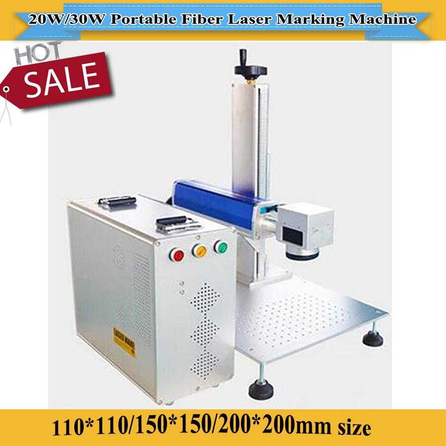20W 30W MAX/Raycus/IPG Fiber Laser Source Optional Fiber Laser Marking Machine Price