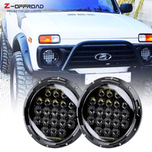 Hi/low Beam 7 Inch Round Led Headlight 7