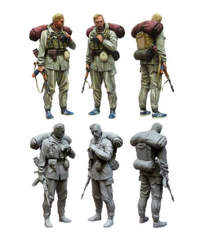 1/35 Resin Figure Commander Of Special Troops Gru 1pc Model Kits