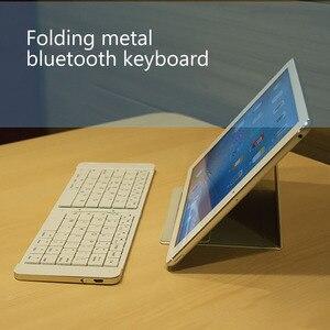 Image 3 - ワイヤレス折りたたみ bluetooth キーボード光と便利な Bluetooth の 3.0 折りたたみキーボード折りたたみ BT ワイヤレスキーパッド電話のラップトップ