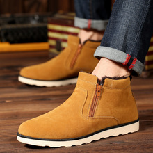 men  Boots For Men Winter Shoes Men Sonw Boots warm Fur Men Boots high-top comfortable shoes