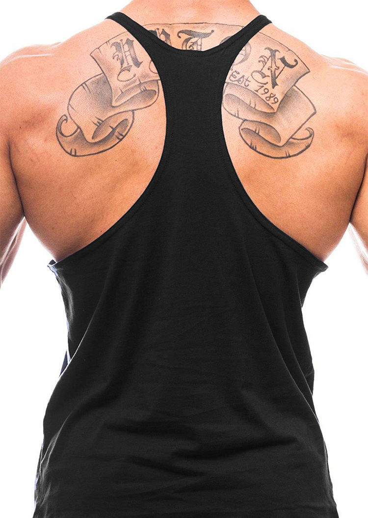 Brand Clothing Muscle Bodybuilding Stringer Tank Top Mens Fitness Singlets Cotton Sleeveless shirt Workout Sportwear Undershirt 9