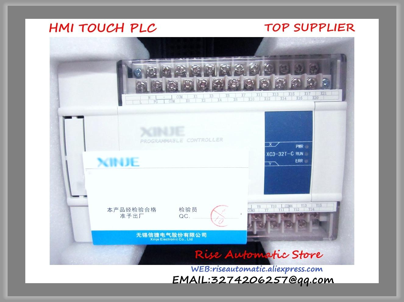 XC3-32T-C PLC CPU DC24V 18 DI NPN 14 DO Transistors New Original