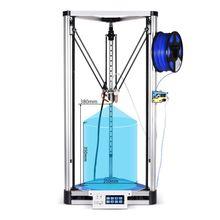 Высокая Точность BIQU Коссель Плюс/Pro DIY 3D принтер Автоматическое Выравнивание Коссель HeatBed Reprap Prusa 3d-принтер Машина Алюминия