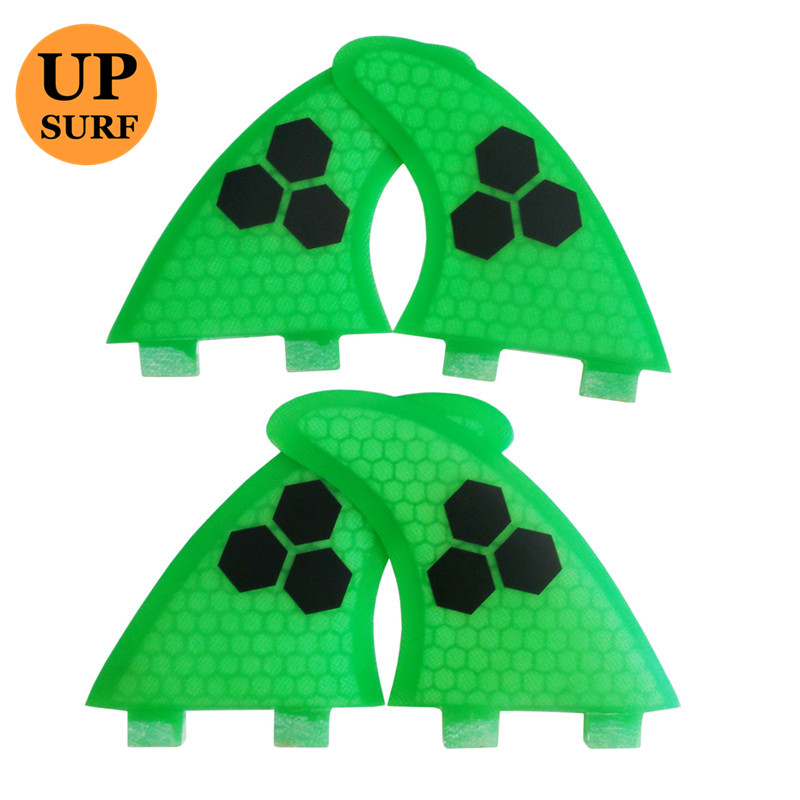 SUP Surfboard Quad Quilhas FCS Surf G5+K2.1 Fins Multi-color Honeycomb Fin Free Shipping