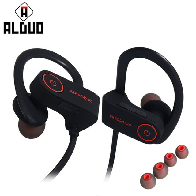 e915153e902 ALANGDUO G6 Bluetooth Earphone In-Ear Wireless Sports Running Bluetooth  Headphone Hands Free Headset For Xiaomi Iphone Android