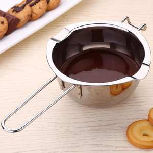 TPFOCUS Stainless Steel Chocolate Melting Pot Butter Heated Pan Kitchen Baking Tool