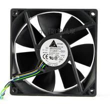 SSEA Novo Atacado ventilador de refrigeração para Delta AUB0912VH 12 v 0.6A 4PIN 9 cm 9025 90*90*25mm ventoinha PWM