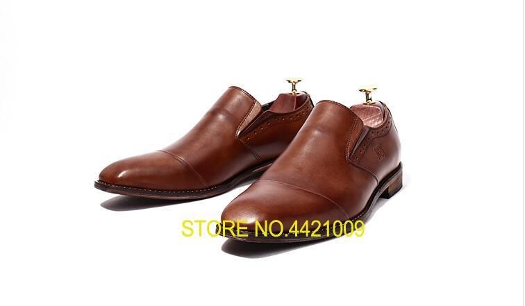 Lace-Up Mens Dress Oxfords Male Smart Casual Genuine Leather Square Toes Solid Wedding Men Dress Shoes Low Top Formal BusinessLace-Up Mens Dress Oxfords Male Smart Casual Genuine Leather Square Toes Solid Wedding Men Dress Shoes Low Top Formal Business