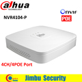 NVR4104-P 4 Ch Inteligente 1U Dahua mini NVR Grabador de Vídeo tiene 4 PoE Red de Puertos HDMI 1 VGA/1 HDMI HD hasta 4 TB NVR