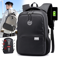 AOTIAN multifunction USB charging men laptop 15.6 inch backpacks for Teenager Fashion man Backpack travel Backpack anti thief