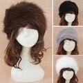 2015 НОВЫЙ Горячий Продажа 5 Цвета Искусственного Меха Ухо Теплым Зимой Лыжный Волос Группа Глава Earmuff Hat женщин #2