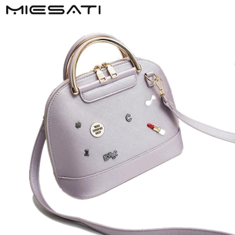 MIESATI Shoulder Bag Female Ladies Girls Women Messenger Bags Small Bag Crossbody Bag Designer Handbag Women Leather Handbags