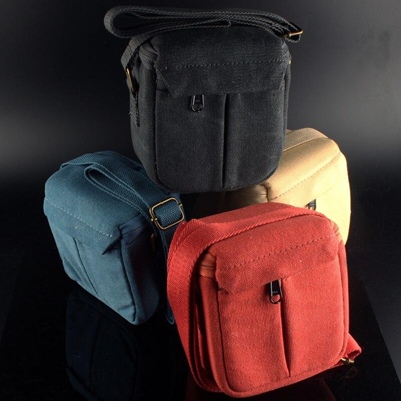Shoulder Strap Canvas Bag Camera Bag for Nikon Coolpix J1 J2 J3 J4 J5 V3 V2 S7000 L330 L340 B500 P340 P100 P80 P7800 A900 W300S