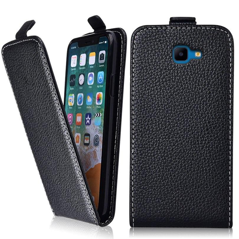 J4 Plus 2018 Case for Samsung Galaxy J4 Plus 2018 J415f  J4+ J415 Coque TPU Cute 3d Emboss Flower Animal Flip Leather Phone Case
