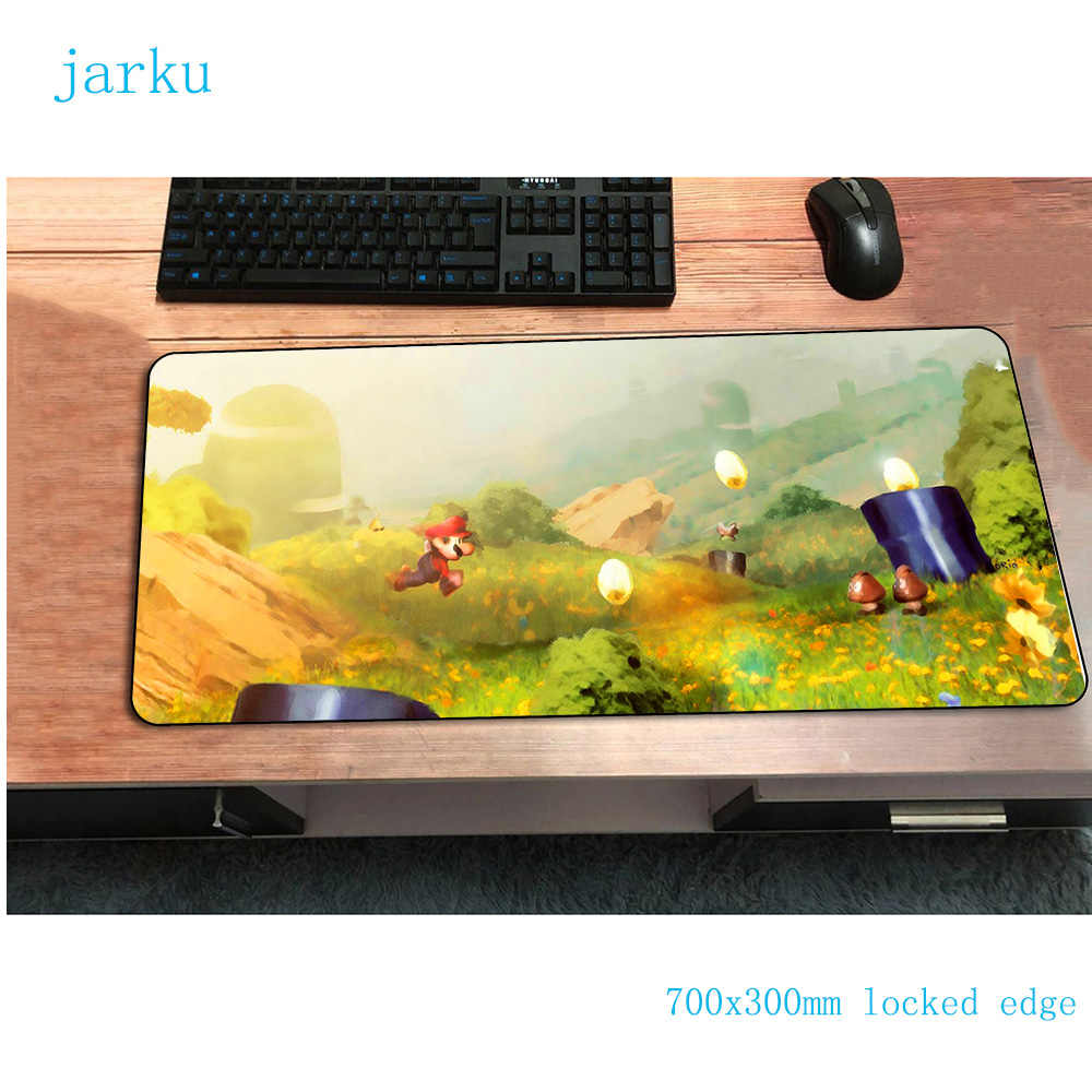 Mario mouse pad best 700x300mm gaming mousepad gamer mouse mat Indie Pop pad keyboard computer padmouse laptop play mats