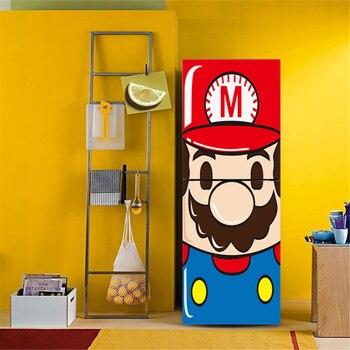 Stickers Décors Porte Réfrigérateur Big Mario Bros