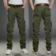 2016 neue Casual Männer Tactical Cargo-hosen Dünne multi-taschen Männer Hosen Drei farben erhältlich Mode Cargo-hosen Hot verkauf