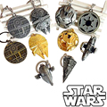 2015 New Star Wars Keychain toys Darth Vader Anakin Stormtrooper Zinc Alloy dark warrior Clone Trooper mark christmas gifts