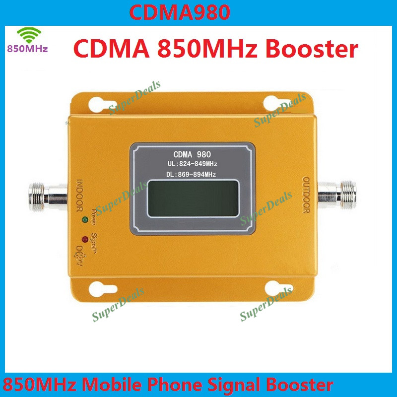 High Power 75dB gsm repeater signal amplifier <font><b>Repetidor</b></font> de celular <font><b>850</b></font> <font><b>mhz</b></font> signal repeater cdma mobile phone signal booster image