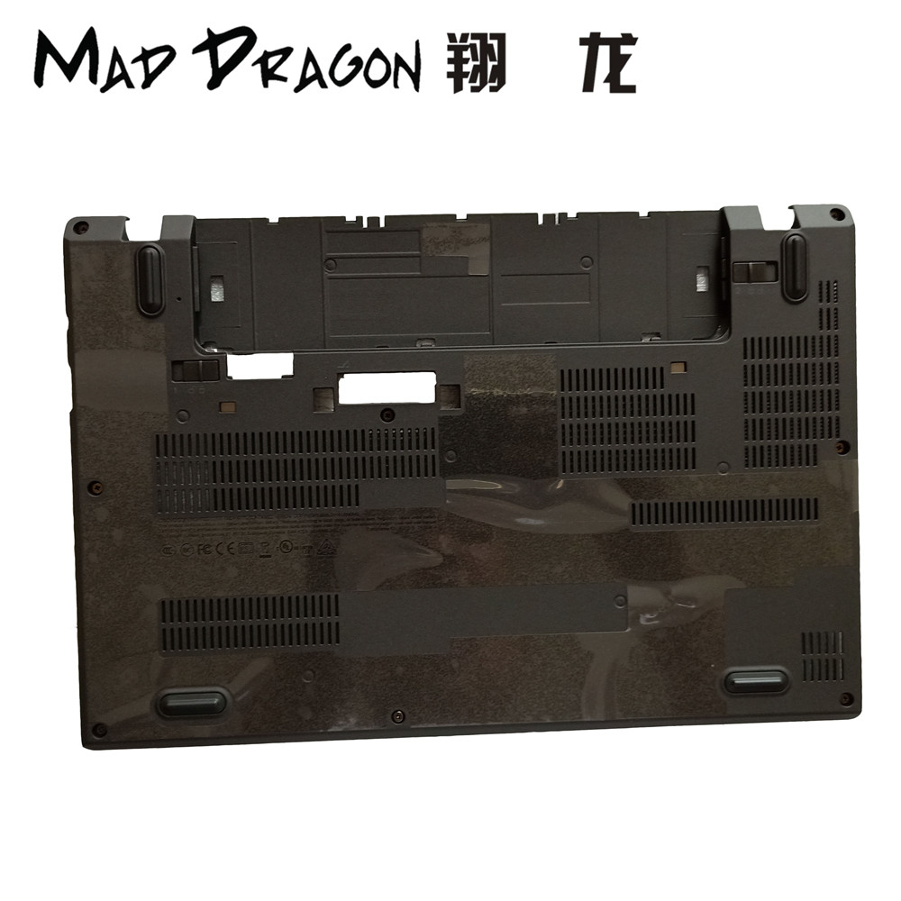 MAD DRAGON Brand new Laptop Lower Case Bottom Base Cover Access Panel Door Cover for Lenovo Thinkpad X270 AP12F000500 01HY501 new case cover for lenovo g500s g505s laptop bottom case base cover ap0yb000h00