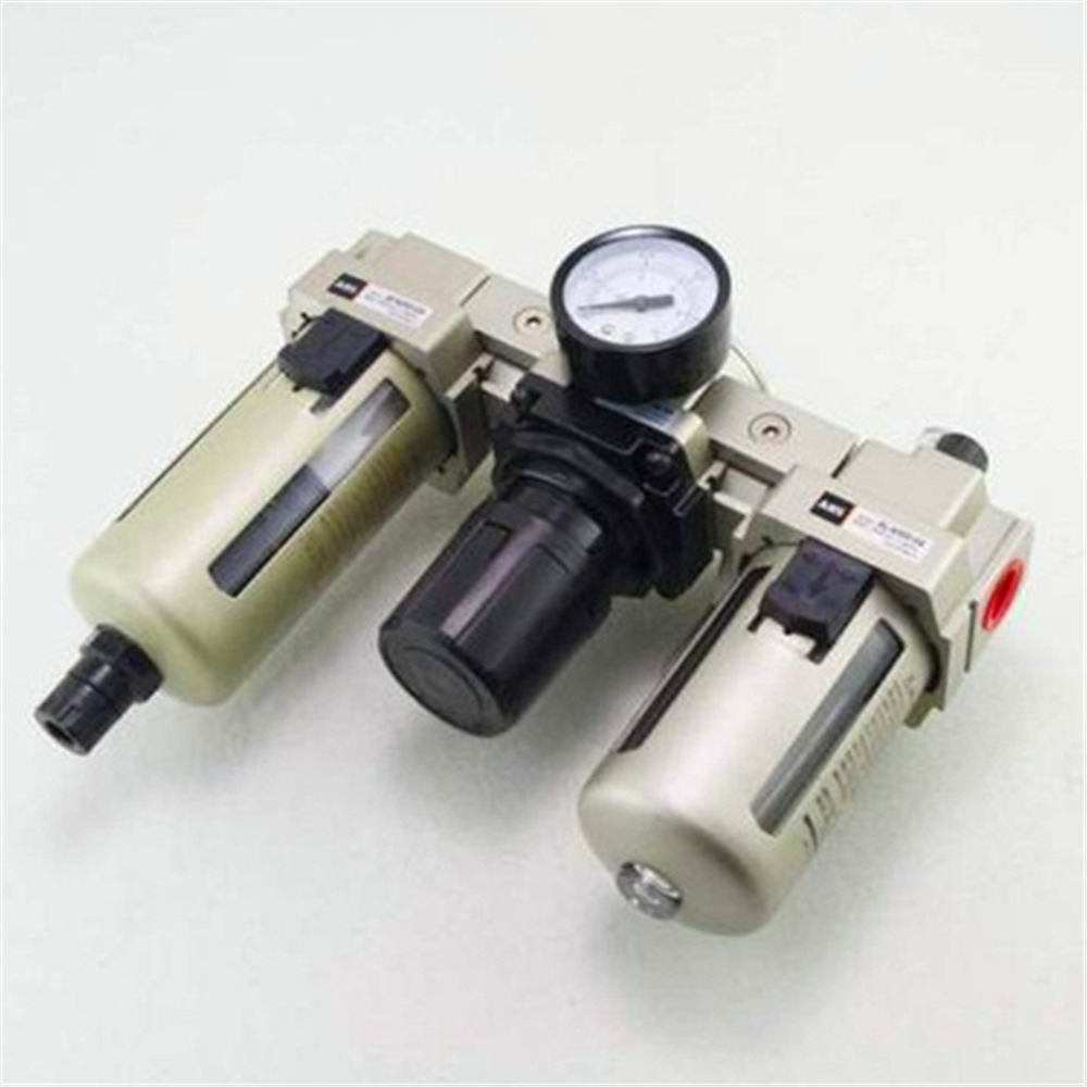 1 PC 1/4BSPT Air Pressure Filter Regulator Lubricator FRL 900L/Min Auto Drain Free Shipping free shipping g1 ports air filter regulator model aw5000 10 with pressure gauge 5pcs in lot high flow rate in stock